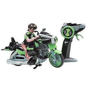 Moto de Controle Remoto Ben 10 Omniverse Alien Cycle - Candide