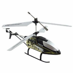 Helicóptero Controle Remoto Fênix 3 Canais Com Gyro