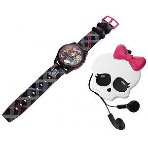Monster HighMonster Kit - Rádio FM e Relógio Digital - Candide