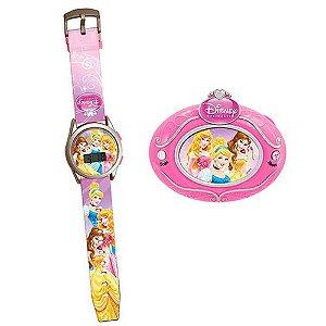 Conjunto Real Princesas Disney -Relógio Digital + Rádio FM - Candide