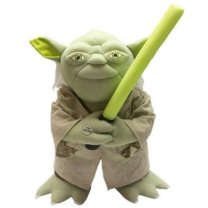 Pelúcia Mestre Yoda Star Wars Interativa com Reconhecimento de Voz - Candide