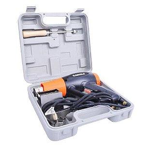 Soprador Térmico com Maleta e Kit 127V 1500W 500ºC HG025KBR1 - GAMMA