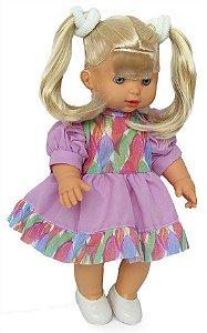 Boneca Loira Sapekinha Colors Giz Colorir - Milk Brinquedos