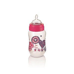 Mamadeira Boys & Girls PP Rosa Ortonatural 250Ml Multikids Baby - BB106