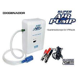 Oxigenador Aerador de Isca Super Air Pump Marine Sports