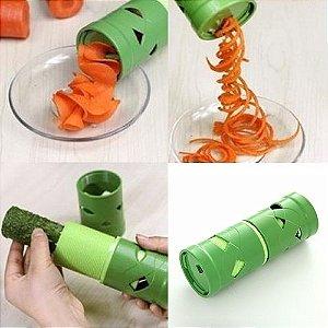 Descascador de Legumes Frutas Verduras em Aspiral