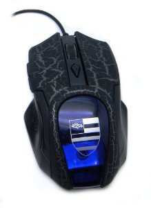 Mouse Gamer Alta Precisão Pro 3200 DPI  USB com LED para PC e Notebook
