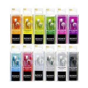 Fone de Ouvido Sony MDR-E9LP Fashion Earbuds Colors