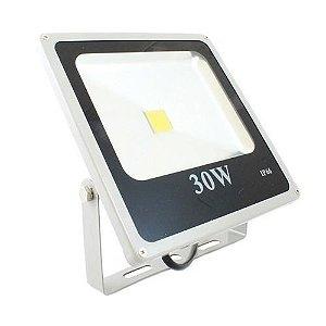 Refletor LED Holofote 30W À Prova D'água Bivolt