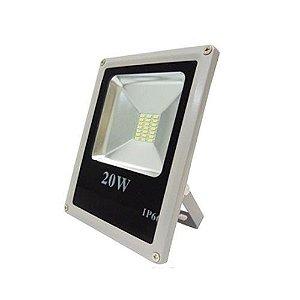 Refletor LED Holofote 20W À Prova D'água Bivolt