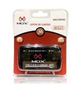 Leitor de Cartão de Memória USB 23 em 1 MO-CR46