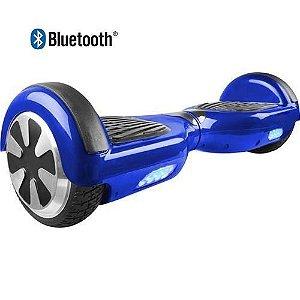 Hoverboard Skate Elétrico Segway Smart Balance Wheel com Bluetooth - AZUL