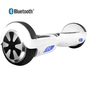 Hoverboard Skate Elétrico Smart Balance Wheel com Bluetooth - BRANCO