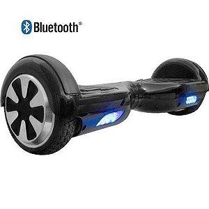 Hoverboard Skate Elétrico Segway Smart Balance Wheel com Bluetooth - PRETO