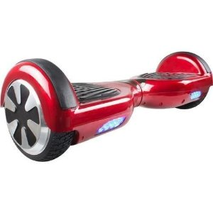 Hoverboard Skate Elétrico Smart Balance Wheel - VERMELHO