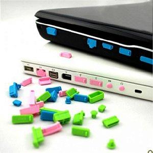 Plug Anti Poeira para entradas de notebook e celulares - Stopper Dust Plug