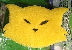 Esponja de Espuma Para Banho - gatinho