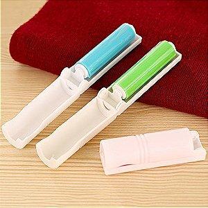 Rolo anti- Pelos  de bolso, de silicone lavável - Chega de Pelos (ecológico, reutilizável)