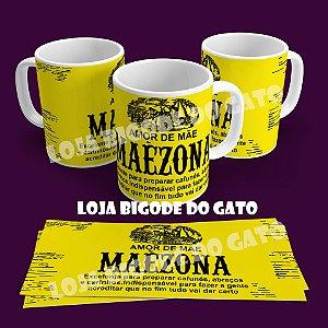Caneca Mãezona - Rótulo Maizena