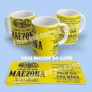 Caneca Mãezona - Rótulo Maizena modelo2