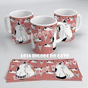 Caneca Casal de Gatos