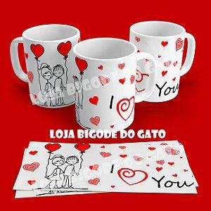 Caneca I love you
