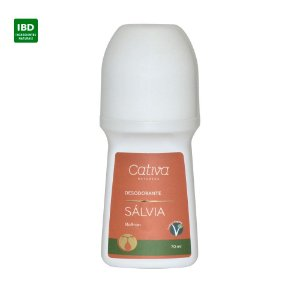 Cativa Natureza Desodorante Sálvia Roll On 70 ml