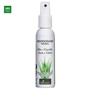 Livealoe Desodorante Natural Aloe Vera 120 ml