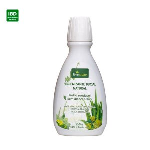 Livealoe Enxaguante Higienizante Bucal Natural Aloe 250 ml