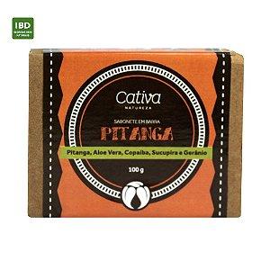 Cativa Natureza Sabonete em barra Pitanga 100g
