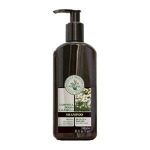 Multi Vegetal Shampoo Camomila, Trigo e Calêndula para Cabelos Loiros e Castanho Claros 240 ml-Vence out 17