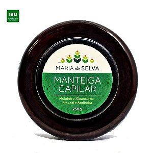 Cativa Natureza Manteiga Capilar Maria da Selva Orgânica Natural Vegana 240ml