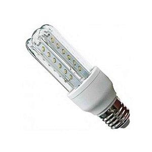 Lâmpada LED 7w 3u Bivolt Rosca Soquete