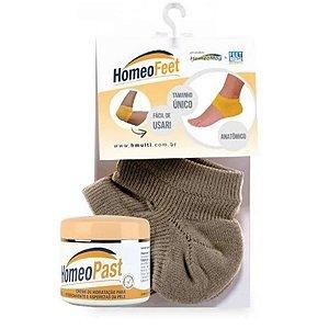 Kit  Homeopast Ultra Hidratação + Homeofeet Meia de Hidratação