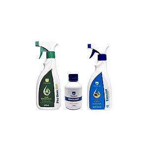 Kit Emolient + Loção Higienizante-Pro Unha