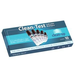 Clean Test Indicador Biológico Clean Up com 10 Unids