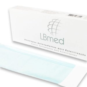 Envelopes Autoselantes LBmed 50mmX130mm com 100 Unids.