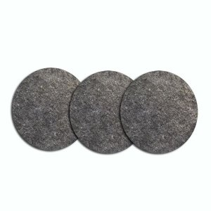 filtro de manta p/ exaustor com 3 unids.(P)