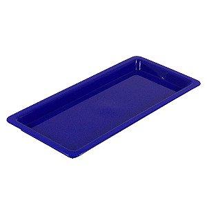 Bandeja Plastica Azul - Pequena - Nova OGP