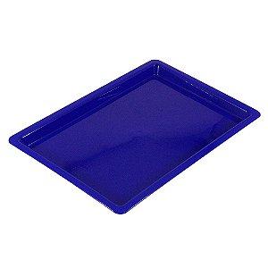 Bandeja Plastica Azul - Grande - Nova OGP
