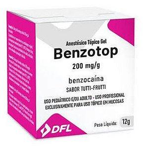 Anestésico Tópico Benzotop Gel