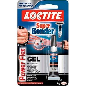 Cola Super Bonder 2gr Flex Gel