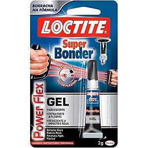 Cola Super Bonder 2gr Flex Gel