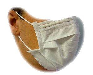 Máscara Branca com Elástico Descarpack 50und