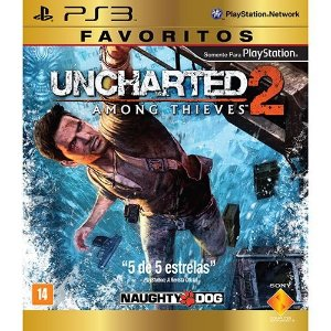 PS3 Uncharted 2 - Among Thieves