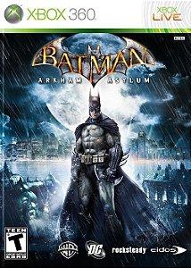 Batman Arkham Asylum - Xbox 360 (usado)