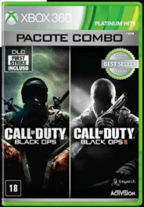 X360 Call of Duty - Black Ops 1 e 2 Combo Pack