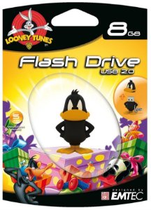 Pen Drive Looney Tunes Daffy Duck 8GB Emtec USB 2.0