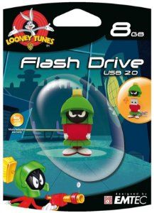 Pen Drive Looney Tunes Marvin 8GB Emtec USB 2.0