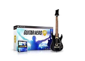 PS3 Guitar Hero Live Bundle